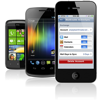 ActiveSync Compatible Mobile Devices
