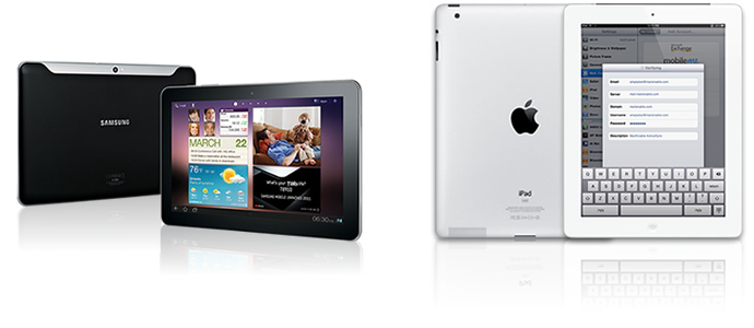 ActiveSync Compatible Tablet Devices