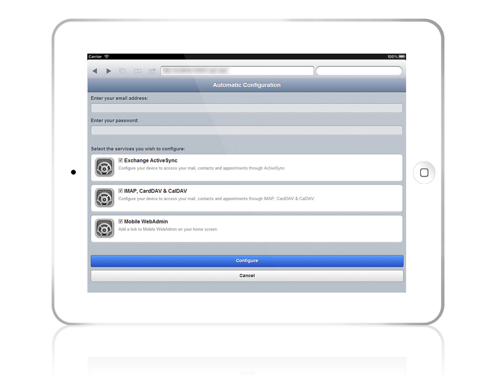 Mobile Connectivity, SyncML, CalDAV, CardDAV | MailEnable
